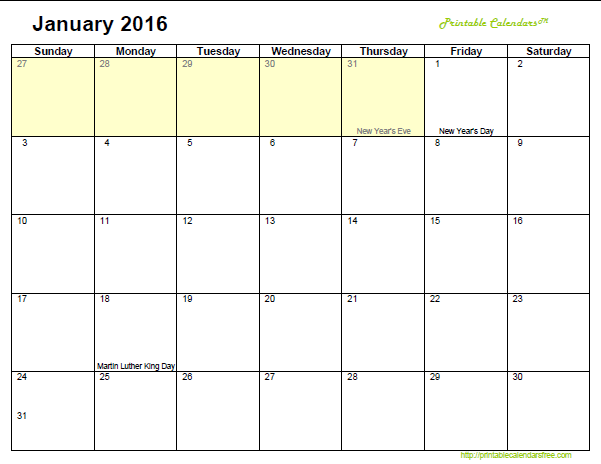 2016 Calendar Printable | Search Results | Calendar 2015